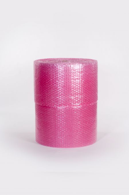 "5/16"" 48"" x 375` Anti-Static Slit 24"" Perfed 12"" Medium Bubble (2 rolls/bundle)"