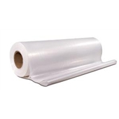 20' x 100` 4 Mil Heavy-Duty Clear Poly Sheeting