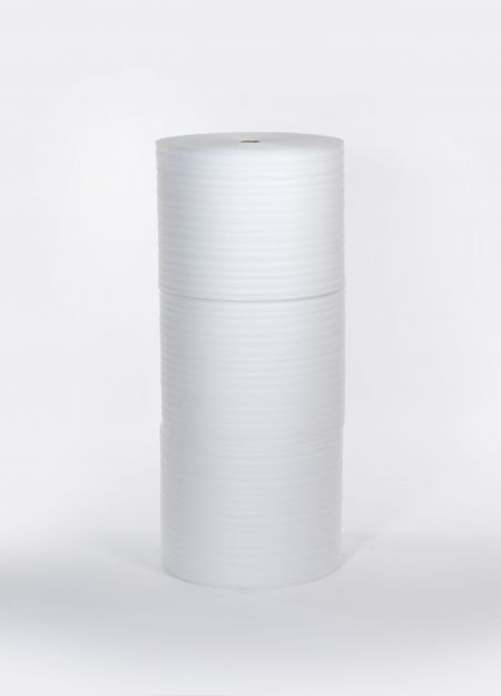 "FINAL SALE: 1/4"" 72"" x 250` Slit 24"" Foam (3 rolls/bundle)"