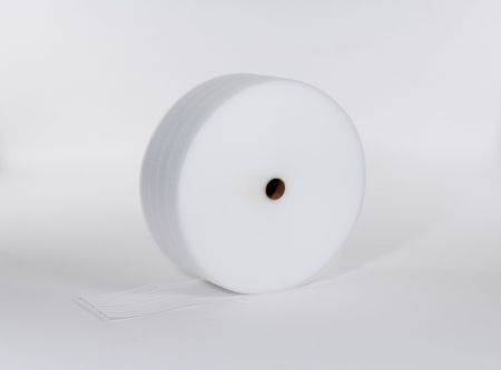 "FINAL SALE: 1/8"" 72"" x 550` Slit 6"" Foam (12 rolls/bundle)"