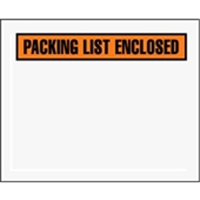 "4 1/2 x 5 1/2"" Panel Face Packing List Envelope (1000/Case)"