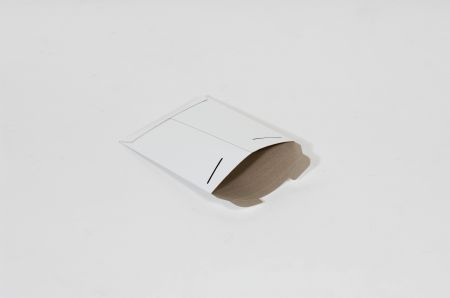 "9 3/4 x 12 1/4""  #5SFW White Tab-Lock Original Stayflats® Mailer (100/Case)"