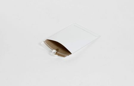 """6 x 6"""" #9PSW White Self-Seal Stayflats Plus Mailer (200/Case)"""