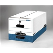 "Bankers Box® String and Button Box - 24 x 15 x 10"" Legal Size - #FEL0070501 (12/case)"