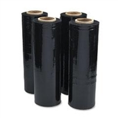 "20"" x 5,000` 80 GA. Opaque (Black) Machine Film"