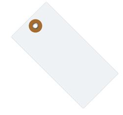 """#6 5 1/4"""" x 2 5/8"""" Tyvek® Shipping Tags - Unwired (1000/case)"""