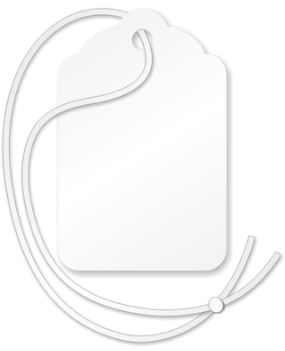 "12"" Tag String (1000/bundle)"