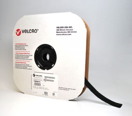 "1/2""x75 VELCRO® Brand Black Loop (1 roll)"