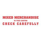 "#DL1430 2 x 6"" Mixed Merchandise in this Carton Check Carefully Label"
