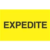 "#DL2381 3 x 5"" ""Expedite"" Label"