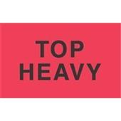 "#DL2721 3 x 5"" Top Heavy Label"