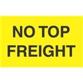 "#DL2741 3 x 5"" No Top Frieght Label"