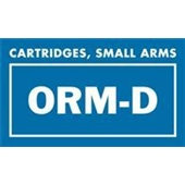 "#DL7011 2 1/4 x 1 3/8"" ORM-D Cartridges, Small Arms Label"