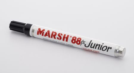 Marsh M88FX Junior Paint Marker, Black (12/pk)