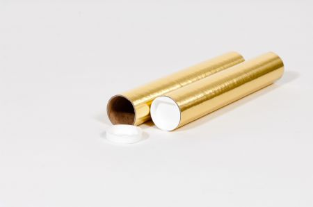 "2 x 9"" Gold Tube (50/Case)"