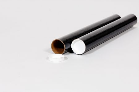 "3 x 18"" Black Tube (24/Case)"