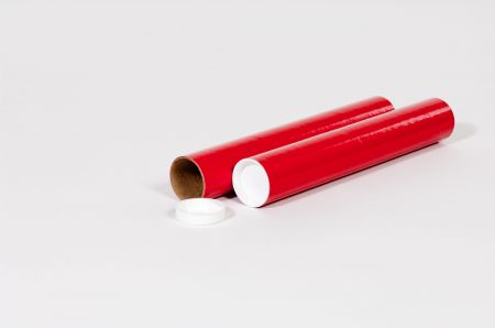 "3 x 18"" Red Tube (24/Case)"