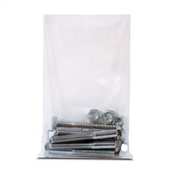 "4 x 15"" 4 Mil Heavy-Duty Flat Poly Bag (1000/Case)"