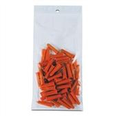 "2 x 12"" 2 Mil Hang Hole Reclosable Poly Bag (1000/Case)"