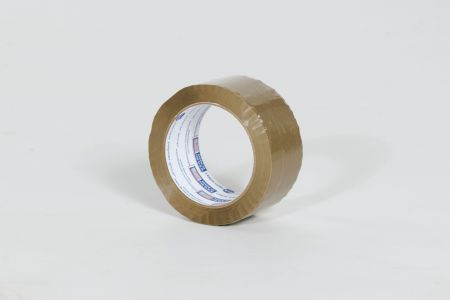 "2"" x 110 yds. 1.6 Mil Utility Grade Tan Hot Melt Carton Sealing Tape (36/Case)"