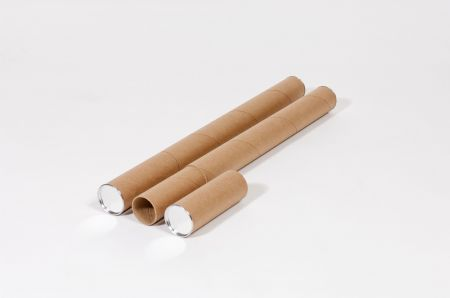 "4 x 24"" Kraft Telescoping Tube (15/Case)"
