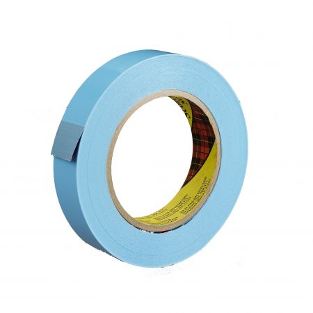 "1"" x 60 yds. 4.6 Mil Blue 160lbs Tensile Strength 3M #8898 Scotch® Polypropylene Stapping Tape (36/case)"