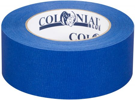 "1"" x 60 yds. (24mm x 55m) 5.1 Mil Blue Painter's Tape (36/Case)"