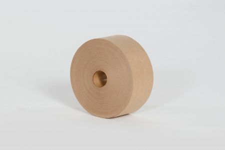 "76mm (3"") x 450` Kraft Industrial Grade Reinforced Tape (10/Case)"
