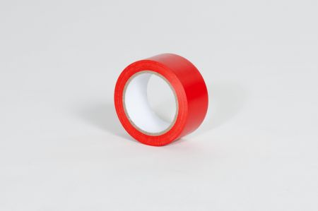 "3"" X 36 yds. 6 Mil Red Aisle Marking Tape (16/Case)"